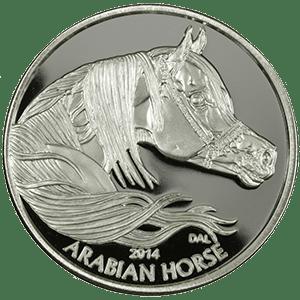 Equus 2014 - obverse-gray