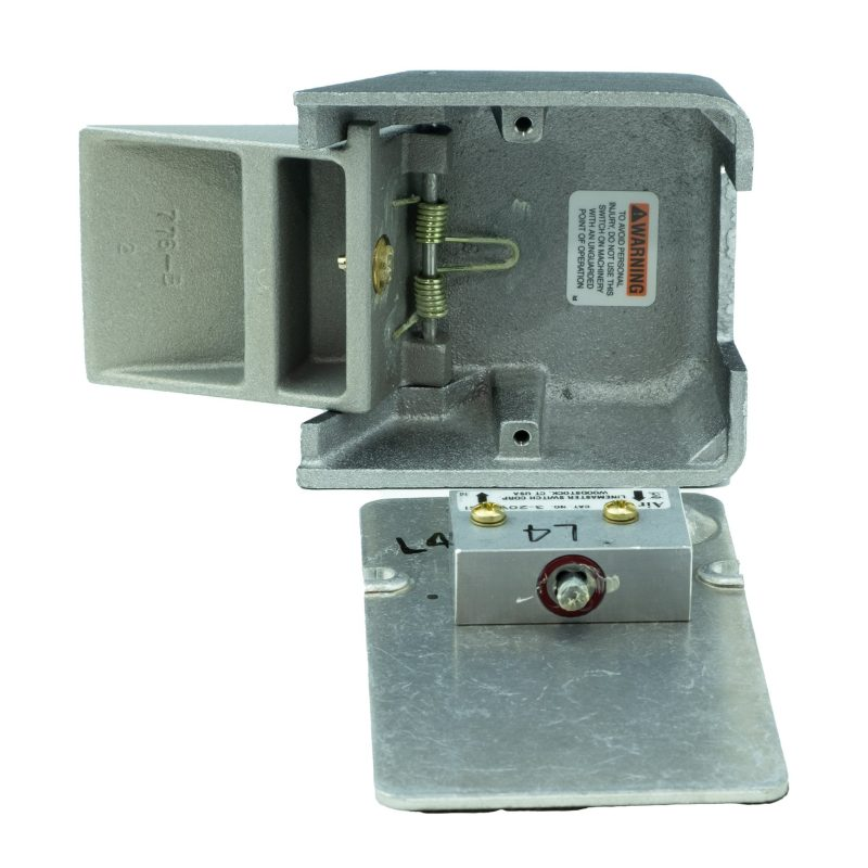 Speed Control Foot Pedal - Inside