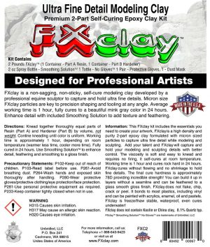 FXclay ultra fine modeling clay