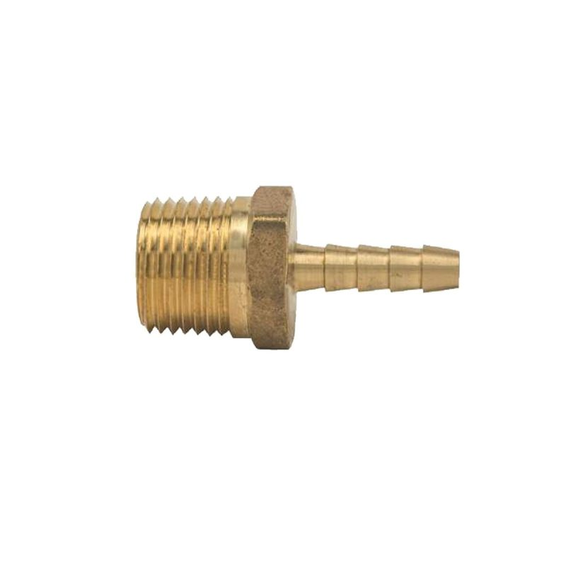 Brass Hose Barb 1/8 Barb and 1/4 NPT
